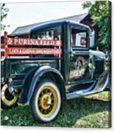 1931 Ford Truck Acrylic Print
