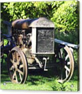 1931 Fordson Tractor Acrylic Print