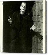 1931 Frankenstein Boris Karloff Acrylic Print