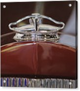 1931 Packard 840 Roadster Hood Ornament Acrylic Print