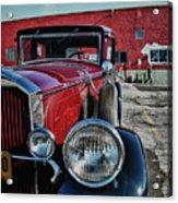 1931 Pierce Arow 3473 Acrylic Print