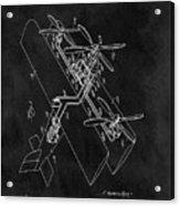 1931 Plane Patent Acrylic Print
