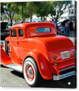 1932 Ford  5 Window Coupe Acrylic Print