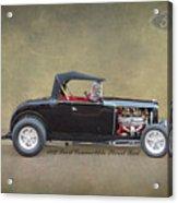 1932 Ford Convertible Street Rod Acrylic Print
