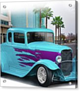 1932 Ford 'down Town' Coupe Acrylic Print
