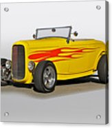 1932 Ford 'flame Game' Roadster Acrylic Print
