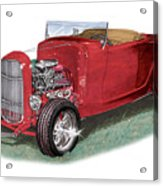 1932 Ford Hi-boy Hot Rod Acrylic Print