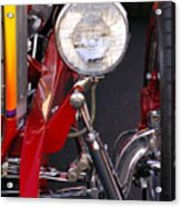 1932 Ford Hi-boy Roadster Headlight Acrylic Print