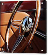 1932 Ford Hot Rod Steering Wheel 2 Acrylic Print