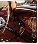 1932 Ford Hot Rod Steering Wheel 3 Acrylic Print