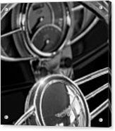 1932 Ford Hot Rod Steering Wheel 4 Acrylic Print