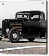 1932 Ford 'louvered' Coupe Acrylic Print