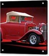 1932 Ford 'rag Top' Roadster Acrylic Print