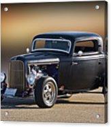 1932 Ford 'silky Satin' Coupe I Acrylic Print