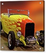 1932 Ford 'sunset' Studio' Roadster Acrylic Print