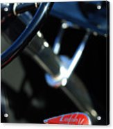 1932 Hot Rod Lincoln V12 Gear Shifter Acrylic Print