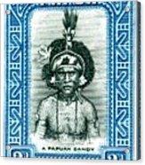 1932 Papua New Guinea Native Dandy Postage Stamp Acrylic Print