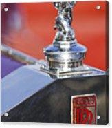 1932 Rolls-royce Hood Ornament 2 Acrylic Print