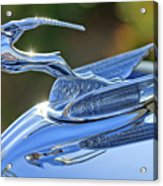 1933 Chrysler Imperial Hood Ornament 2 Acrylic Print