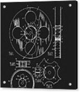1933 Film Reel Patent Acrylic Print
