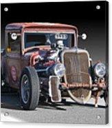 1933 Ford Pu Rat Rod II Acrylic Print