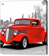 1933 Ford 'three Window' Coupe I Acrylic Print
