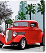 1933 Ford 'three Window' Coupe II Acrylic Print
