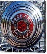 1933 Packard 12 Wheel Acrylic Print