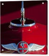 1933 Pontiac Hood Ornament 2 Acrylic Print