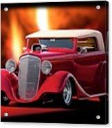 1934 Chevrolet Phaeton Convertible Acrylic Print
