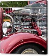 1934 Chevy Truck Motor Acrylic Print