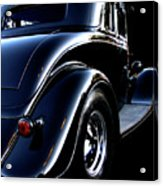 1934 Ford Coupe Rear Acrylic Print