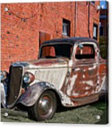 1934 Ford 'patina Plus' Coupe Acrylic Print