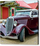 1934 Ford Roadster Hot Rod Acrylic Print