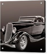 1934 Ford Roadster Acrylic Print