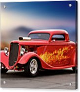 1934 Ford 'three Window' Coupe I Acrylic Print