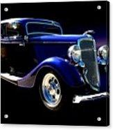 1934 Ford Tudor Sedan Acrylic Print