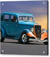 1934 Ford Victoria II Acrylic Print