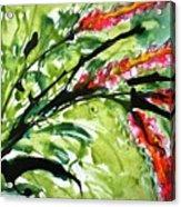 Heavenly Flowers Acrylic Print