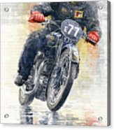 1934 Rudge Ulster Grand Prix Model  Acrylic Print