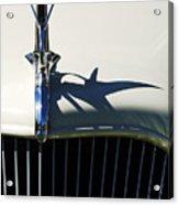 1934 Terraplane Coupe Hood Ornament Acrylic Print