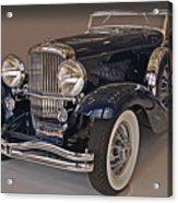 1934 Walker Lagrande Duesenberg  Acrylic Print