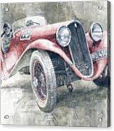 1934 Walter Standart S Jindrih Knapp 1000 Mil Ceskoslovenskych Winner  Acrylic Print