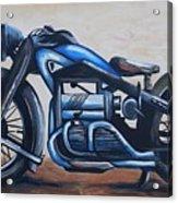 1934 Zundapp Motorcycle Acrylic Print