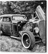 1935 Chevy Sedan Rat Rod Acrylic Print