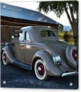1935 Ford Coupe Acrylic Print