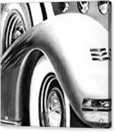 1935 Lasalle Abstract Acrylic Print