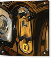 1935 Packard Console Acrylic Print