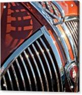 1935 Plymouth Hood Ornament Acrylic Print