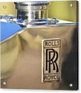 1935 Rolls-royce Phantom II Hood Ornament Acrylic Print by Jill Reger